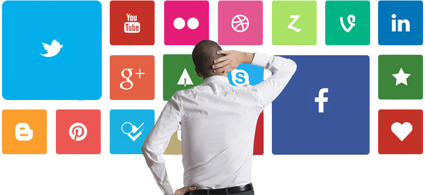 Busca redes sociais